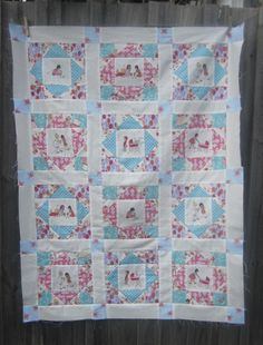 sewpony: Emily's quilt top complete!