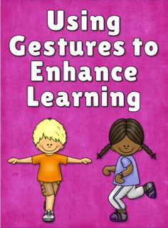 Corkboard Connections: Using Gestures to Enhance Learning