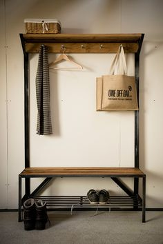 Coat Rack Bench on Behance