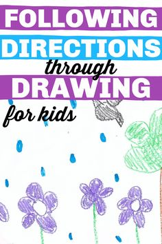 Easy Following Direction Activity for Kids