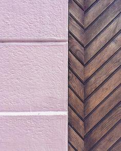 #pinkwall vs #wooddoor by mariceline