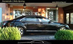 Alquiler de Mercedes Clase S para #traslados en #Madrid