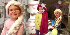 www.themagicyarnproject.com  Over 350 (as of 3/16/16) wigs have been shipped out to cancer fighters in 41 states and 12 countries!
