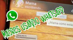 Tira: Problemas del primer mundo: ¿Tu madre tiene WhatsApp?