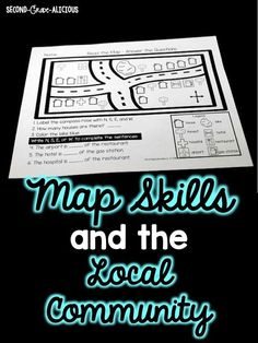 This is perfect for teaching first grade map skills, community helpers, and all about the the local community. These first and second grade social studies activities will help students develop map skills while learning all about community helpers and their local community.