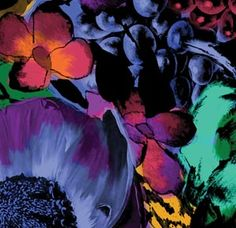 Stunning floral fabric from Australian textile designers Sixhands.