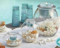 PartyLite - Ocean Idea for your wedding