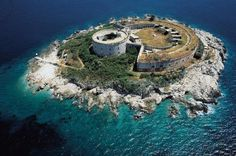 I found the island...A converted missile silo, now a tropical island home.