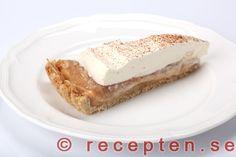 En bit rabarberkolapaj Fika, Tart, Nom Nom, Cheesecake, Sweets, Cookies, Breakfast, Flott, Desserts