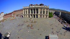 Palazzo Madama - Piazza Castello - Torino - Piemonte #piazzeditalia #Italy_Travel  Visit: www.Italy.travel #IlikeItaly #Torino  #Piemonte #Italia #Italy Via @Cantforgetitaly Photo by: Edoardo Cicchetti