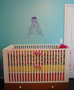 Wall Decals Nursery  Vinyl Decal Fairy Princess with by BestDecals, $26.99
