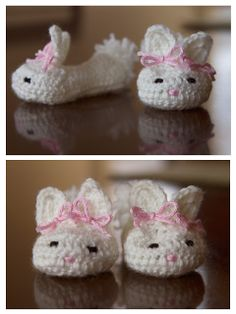 Lady By The Bay: Baby Bunny Booties
