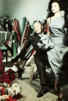 Monsieur Christian Dior photographed by Bellini.