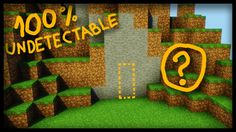 The SECRET 100% undetectable Minecraft Door! - (secret base redstone tut...