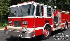 1993 Spartan Fire Truck For Sale. Fire Trucks For Sale, Brush Truck, Fire Apparatus, Fire Engine, Fire Department, Firefighters, Pumping, Engineering, Firemen
