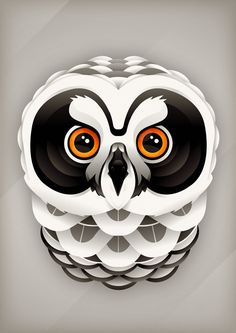 paper owl by Rob Kemerink