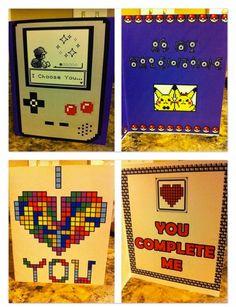 Cartões namorado nerd | Namorada Criativa - Por Chaiene Morais
