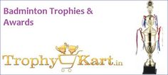#‎Badminton‬ #‎Badmintontrophies‬ #‎Trophies‬ Trophykart, India's largest Badminton trophy manufacturer and supplier having vast collection of Badminton Trophies with better-quality customer service, guaranteed low prices.