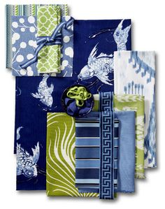 Koi Pond Fabric Collection - by Calico
