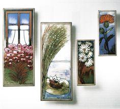 "Arabia ""Sisusta-Inred"" Helja Liukko Sundström (Erdinç Bakla archive) Pottery Vase, Scandinavian Design, Finland, Vases, Archive, Gallery Wall, Porcelain, Frame, Painting"