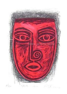 Upoko Whero by Robyn Kahukiwa for Sale - New Zealand Art Prints