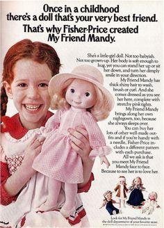 'My Friend Mandy' Doll