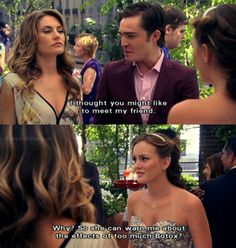 blair waldorf quotes, gossip girl, Blair is really the best- she tells it how it is
