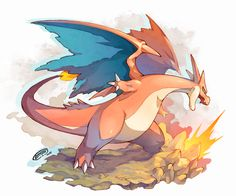 gamer-times:  Mega Charizard Y by Tomycase