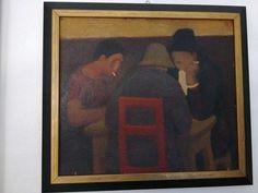 Alois mikulka 1933 czeska ÖL AUF PLATTE Victorian Picture Frames, Victorian Pictures, Wooden Picture Frames, Painting Frames, Painting Prints, Art Nouveau, Art Deco, Fish Patterns, Painted Signs