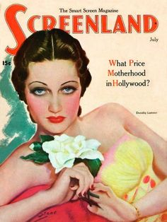 Dorothy Lamour cover