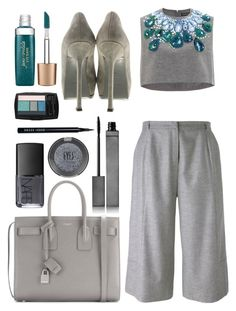 """Untitled 446"" by cattstyles-delenfent ❤ liked on Polyvore featuring Vika Gazinskaya, Carin Wester, Yves Saint Laurent, Jane Iredale, NARS Cosmetics, Lancôme, Burberry, Bobbi Brown Cosmetics, Topshop and women's clothing"