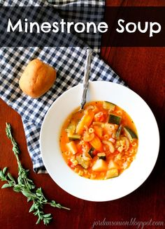 Jordan's Onion: Minestrone Soup