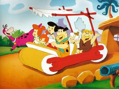 old cartoons from the 50's and 60's   Cartoon Wallpapers: The Flintstones 4