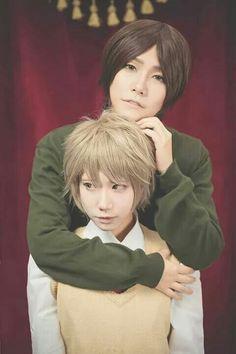 Mutsumi and Shinomiya #Watashi #wa #motete #dousunda