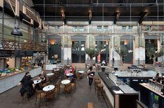 TenBrasWestinga - Energiehuis In de oude elektriciteitscentrale heeft de gemeente Dordrecht een bundeling van 6 cultuurinstellingen gehuisvest.