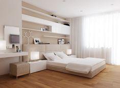 Stílusosan, egyszerű vonalakkal - modern lakás lakberendezési látványtervei