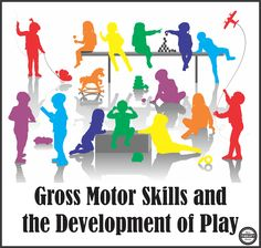 Gross Motor Skills and the Development of Play in Children - Your Therapy Source Motor Skills Activities, Gross Motor Skills, Physical Development, Child Development, Learning Through Play, Kids Learning, Learning Skills, Mental Health Therapy, Pediatric Occupational Therapy