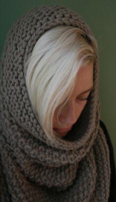 JOAN OF ARC Knitting Pattern very bulky cowl by SASKnitsItAgain
