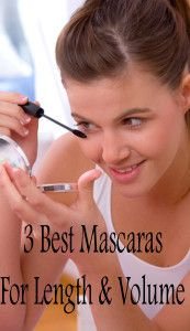 3 Best mascaras for length and volume