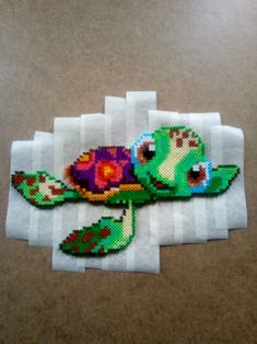 15 Best Fun Perler Beads Designs Easy To Get Started Perler Bead Disney, Diy Perler Beads, Perler Bead Art, Pearler Beads, Melty Bead Patterns, Pearler Bead Patterns, Perler Patterns, Beading Patterns, Pixel Beads