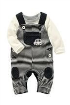 Buy Stripe Car Dungarees With Bodysuit from the Next UK online shop Kids Fashion Boy, Toddler Fashion, Cute Outfits For Kids, Baby Boy Outfits, Baby Overalls, Korean Babies, Baby Sewing Projects, Cute Baby Boy, Baby Kids Clothes