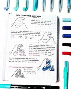Drawing Tutorial 35 Bullet Journal How to Doodle Tutorials - Ten Catalog - Bullet journaling is cheap therapy that works! Here are 35 bullet journal how to doodle tutorials that'll help you step up your bujo game. Doodle Bullet Journal, Bullet Journal Notebook, Bullet Journal Inspo, Bullet Journal Ideas Pages, Art Journal Pages, Journal Prompts, Bullet Journal Decoration, Bullet Journals, Journal Inspiration