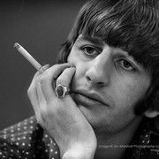 Ringo. These never-before-seen photos of the Beatles at Candlestick Park in San Francisco are now being sold by the San Francisco Art Exchange.