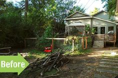 Before & After: A New Backyard for an Urban Homestead