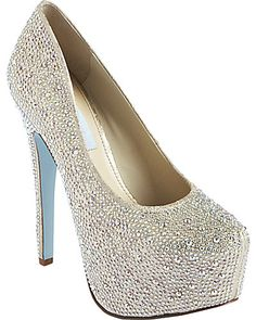 Oh my god Betsey Johnson! I need these shoes. These will be my wedding shoes