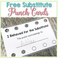 9 Tips To Help Students Behave for a Substitute Teacher Classroom Hacks, Classroom Behavior, First Grade Classroom, Future Classroom, School Classroom, Classroom Organization, Classroom Management, Behavior Management, Classroom Freebies