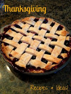 Thanksgiving Recipes & Ideas! Apple Cranberry Pie, Sweet Potato Pie & More!