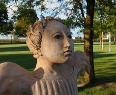 Garden Sculpture, Lion Sculpture, Sculptures, Ceramics, Statue, Outdoor Decor, Art, Ceramica, Art Background