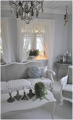 Living room shabby chic Rustic French country decor idea. Description from pinterest.com. I searched for this on bing.com/images