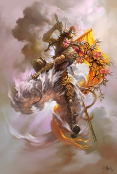 Sun Wukong - by ~fuckorange on deviantART